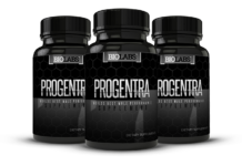 Three Bottles of Progentra Male Enhancement Supplements