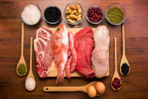 protein rich food fish chicken meat eggs