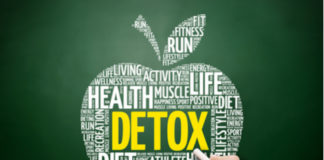 apple shape detox concept