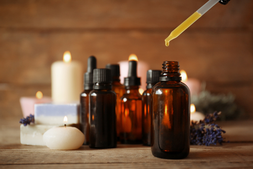essential oils with dropper