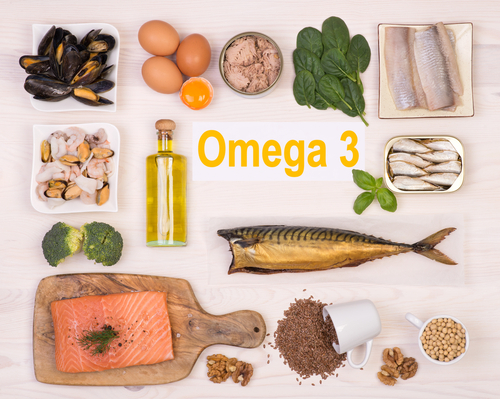 food source for Omega 3 can be consumed