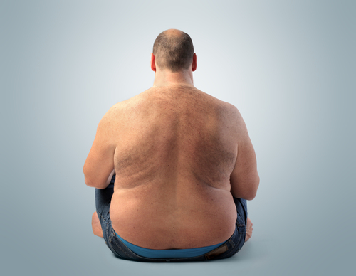 fat man sitting on floor should explore the Progentra benefits