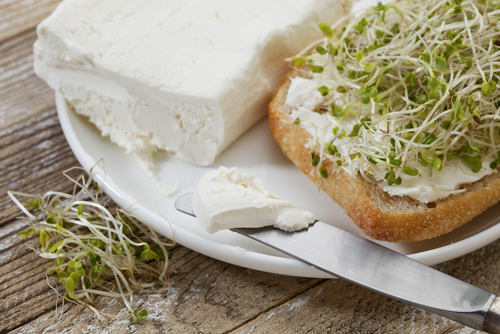 Broccoli Sprouts on toast eaten with Progentra