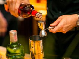 barista preparing a tequila shot