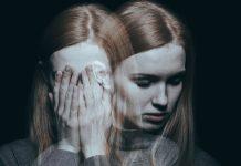 woman with bipolar disorder, depressed