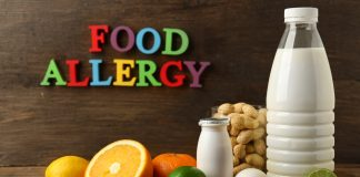 food allergy and common allergens dairy nuts fruits