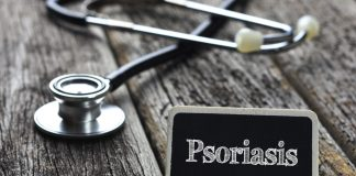 psoriasis and stethoscope