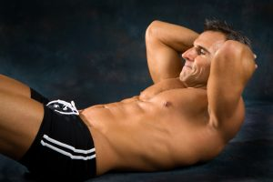 crunches for strong core