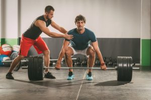 personal trainer dead lift