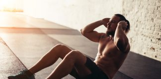 crunches for core workout