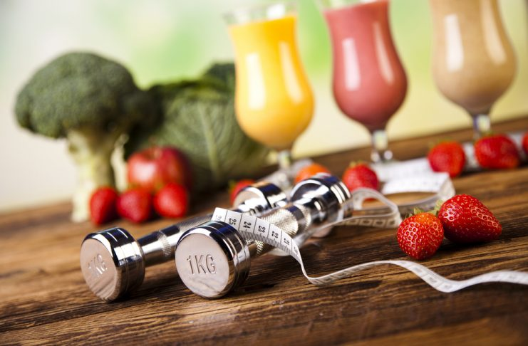 weight loss food and exercise
