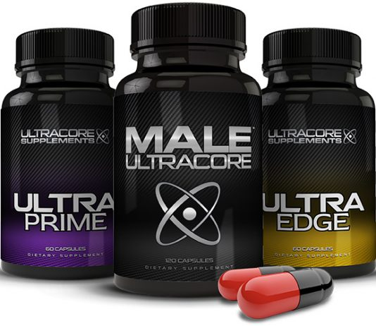 Bottles of UltraCore Power