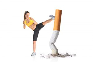 quit smoking through exercise